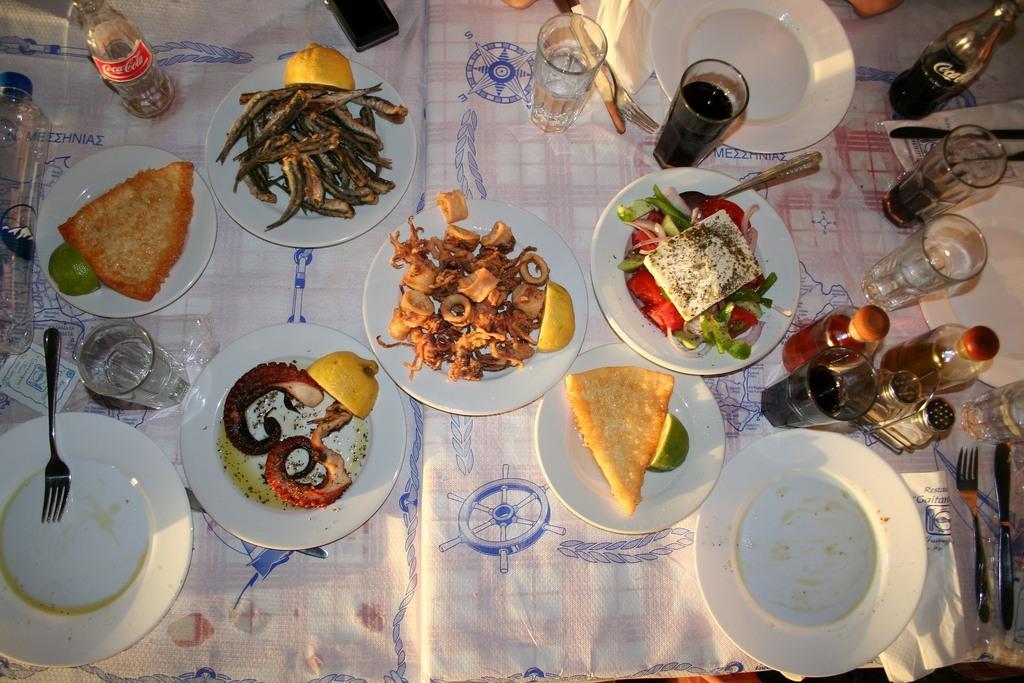 Grčka Hrana