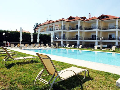pefkohori vila golden bay 2