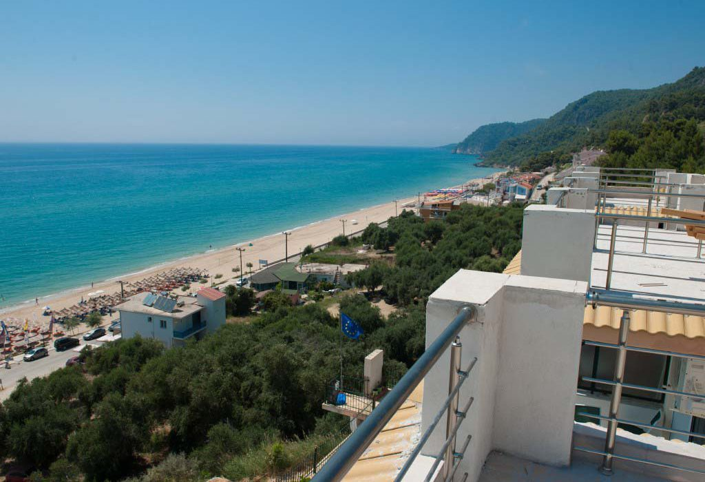 vrachos vila ionian view