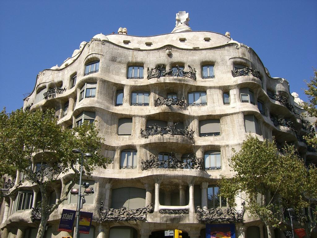 Barselona Zgrada